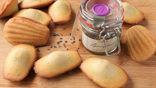 Madeleine Lavander recipes of the month